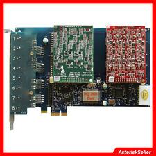 asterisk card AEX800 8 Port FXO FXS Card Freepbx,Issabel IP PBX Tdm800p TDM Card