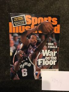 Marcus Camby Autographed Signed Sports Illustrated NBA Knicks Basketball