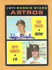 1971 Topps Baseball Signed AUTO Autographed Cards