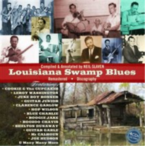 Various Artists-Louisiana Swamp Blues CD / Box Set NEW