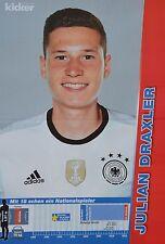 JULIAN DRAXLER - A3 Poster (ca. 42 x 28 cm) - Fußball EM 2016 Clippings Sammlung