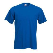 Camisetas de hombre azul Fruit of the Loom talla S