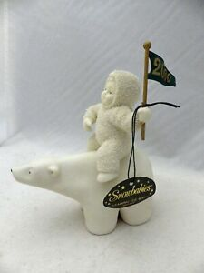 Department 56 Snowbabies - Leading the Way, a year 2000 limited, #56.05708 - EUC