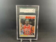 1987-88 FLEER BASKETBALL MICHAEL JORDAN #59 GRADED SGC 92 NM/MT+ 8.5 BULLS