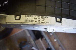 VOLVO S60 S80 V70  XC70 XC90  INSTRUMENT CLUSTER NUMBER 30682283 D5 DIESEL
