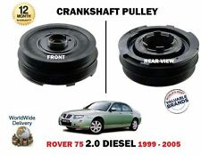 FOR ROVER 75 2.0 1999-2005 FREELANDER DIESEL NEW CRANKSHAFT PULLEY PULLY