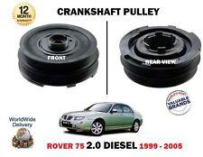 Para Rover 75 2.0 1999-2005 Diesel Nuevo Polea Del Cigüeñal Pully Freelander