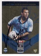 SIGNED LAURIE DALEY NSW ORIGIN BLUES PAST LEGENDS CAPTAIN 2010 NRL CARD RARE