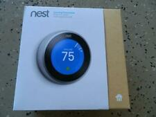 NEST Learning Thermostat T3007ES (3rd Gen) Stainless Steel - Open-NEW in Box