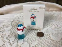 Hallmark Keepsake Sweet Li'l Snowman 2011 Miniature Ornament