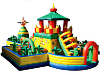 55x40x22 Commercial Inflatable Water Slide Bounce House Castle Course We Finance
