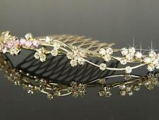 Accessori in oro per acconciatura da sposa