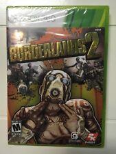 Borderlands 2 (Microsoft Xbox 360, 2012) Brand New Factory Sealed 198