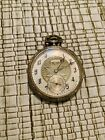 1922 Illinois Pocket Watch 12s Runs 17 Jewels Gold Fill The Master