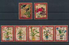 LM83489 Paraguay paintings plants flora nature flowers fine lot MNH