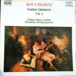 Boccherini - Guitar Quintets G. 445, 446 & 447  - CD, VG
