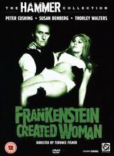HAMMER HORROR DVD – FRANKENSTEIN CREATED WOMAN – PETER CUSHING