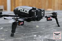Parrot Bebop 2 Drone Strobe Mount For Flytron Strobon Cree, Firehouse Technology