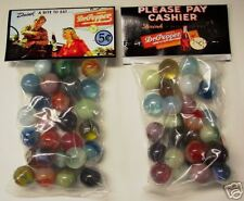 2 BAGS OF DR. PEPPER SODA 5 CENTS PROMO MARBLES