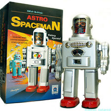 Tin Toy Robot Astro Spaceman Battery Operated Astronaut - SALE!