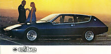 1977 1978 Lotus Elite Original Sales Brochure