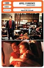 APPEL D'URGENCE - Edwards,Agar,De Jarnatt (Fiche Cinéma) 1989 - Miracle Mile