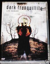 DARK TRANQUILLITY: Live Damage DVD 2003 CONCIERTO & BONUS VIDEOS Región 0 NUEVO