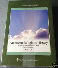 AMERICAN RELIGIOUS HISTORY Parts 1 & 2 New Sealed On 24 Audio Lectures CD Set