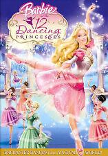 Barbie in the 12 Dancing Princesses (DVD, 2006) GOOD