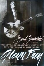 Glenn Frey Eagles Soul Searchin 1988 Vintage Music Record Store Promo Poster