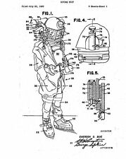 Diving Suit - Copy of Patent dated 1953
