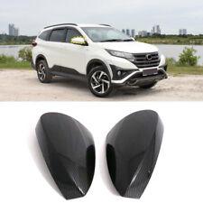 Carbon Fiber Look Side Door Mirror Trim For Toyota Rush / Daihatsu Terios 18-20