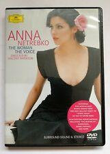 ANNA NETREBKO The Woman The Voice .. Surround Sound & Stereo DVD TOP  NM