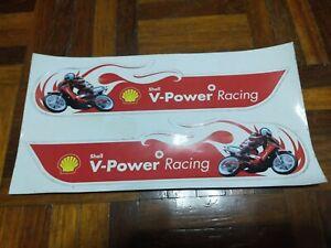 sticker shell v power racing