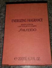 Shiseido Energizing Fragrance Body Lotion 200ml / 6.7oz NIB For Women RARE