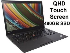 Lenovo Thinkpad X1 Carbon/ Core i5-4300U/ 8GB 480GB SSD/ 14in QHD Touch Win10Pro