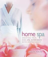 Very Good, Home Spa: Creating Your Own Spa Experience with Aromatherapy, White,