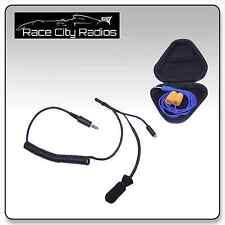 IMSA Racing Coiled Helmet Kit S3 Mic Challenger Ear Buds Radios Electronics