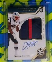 2019 Limited Football Damien Harris Rookie Patch Auto RPA  /149 RC Patriots
