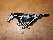 2010 2011 2012 2013 2014 FORD MUSTANG HORSE SKELETON GRILL GRILLE EMBLEM NEW