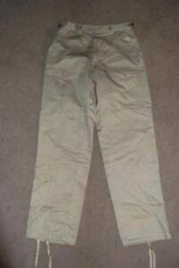 Military TAN Small Reg Pants Desert Cold Weather Trousers Work Hunting 145