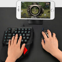 Gaming Keyboard K108 Mechanische Einhandtastatur für Pubg Mobile Gam KQEA