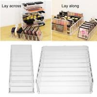 Cosmetic Organizer Clear Makeup Lipstick Box Drawers Holder Case Jewelry Storage