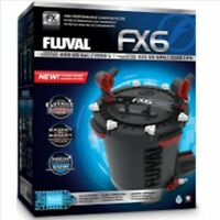 FLUVAL FX6 CANISTER FILTER A219 All Media included PLUG AND PLAY 3 YEAR WARRANTY