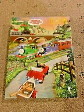 Vintage Golden 100 piece puzzle Thomas & Percy at the Fishing Village