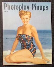 1952 PHOTOPLAY PINUPS Magazine #2 FVF 7.0 Marilyn Monroe Rita Hayworth