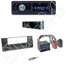 Caliber RMD021 Autoradio + BMW 5er (E39) /X5 Blende black + ISO Adapter Set
