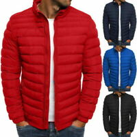 Men's Puffer Bubble Down Jacket Coat Lightweight Quilted Padded Packable Outwear