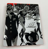 Persona 5 Steelbook & Disc (Sony PlayStation 4 PS4) No Slipcover