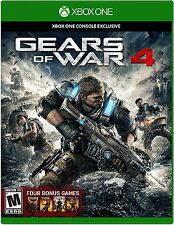 Gears of War 4 - Microsoft Xbox One - Brand New & Factory Sealed